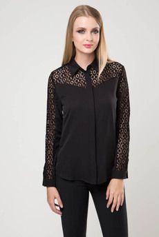 Блузка с кружевными рукавами Marimay