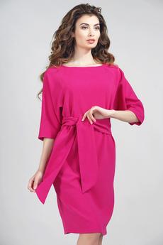 Платье в деловом стиле с поясом Dress-top